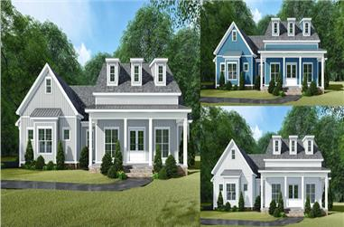 3-Bedroom, 2031 Sq Ft Farmhouse House - Plan #193-1109 - Front Exterior