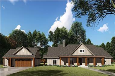 3-Bedroom, 2191 Sq Ft Ranch Home - Plan #193-1110 - Main Exterior