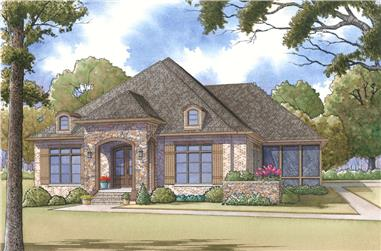 3-Bedroom, 2995 Sq Ft Craftsman House Plan - 193-1113 - Front Exterior