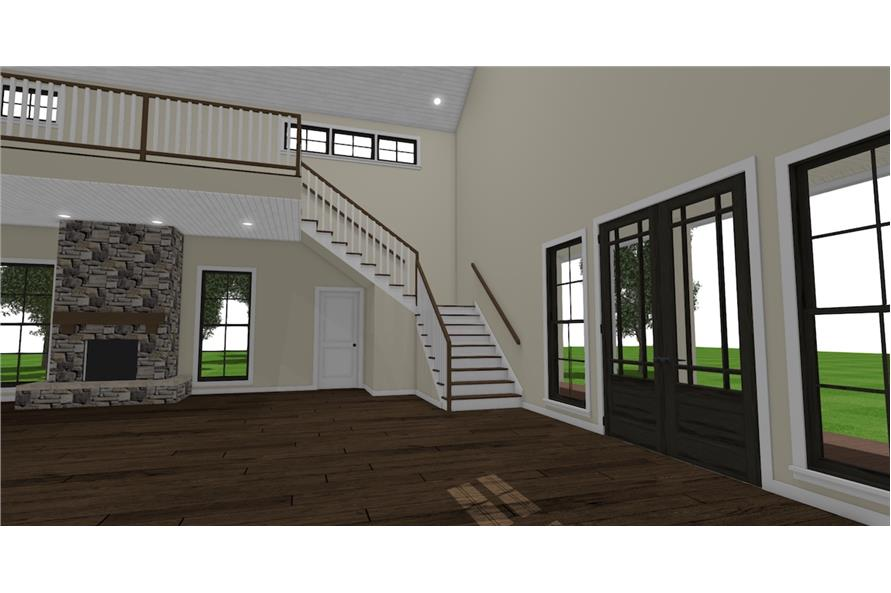 Entry Hall: Staircase of this 3-Bedroom,4072 Sq Ft Plan -4072