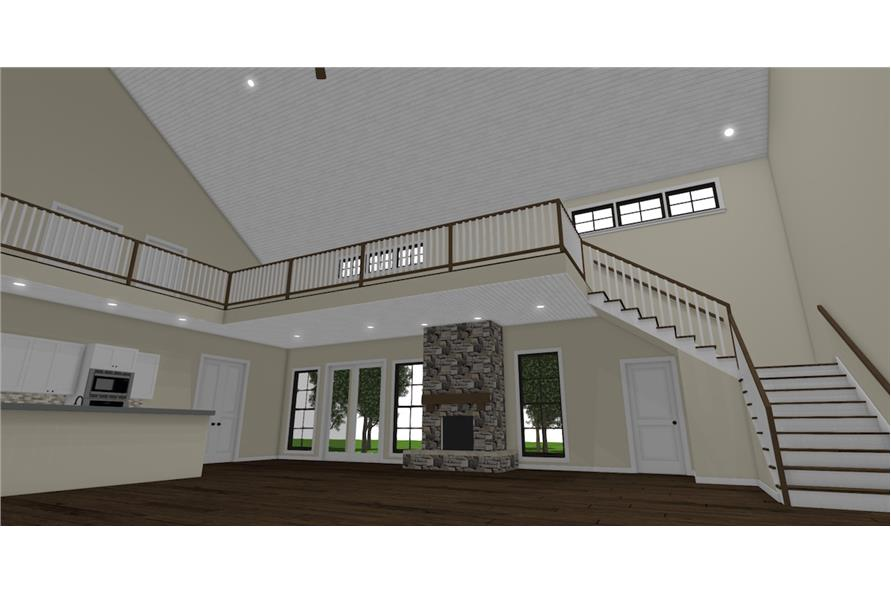 Great Room of this 3-Bedroom,4072 Sq Ft Plan -4072