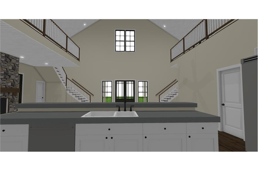 Kitchen of this 3-Bedroom,4072 Sq Ft Plan -4072