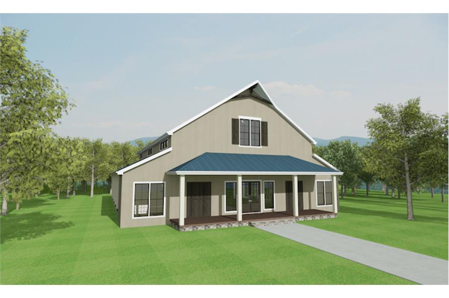 Home Plan 3D Image of this 3-Bedroom,4072 Sq Ft Plan -4072