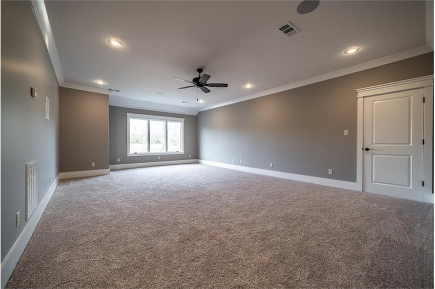 Bonus Room of this 4-Bedroom,2503 Sq Ft Plan -193-1122