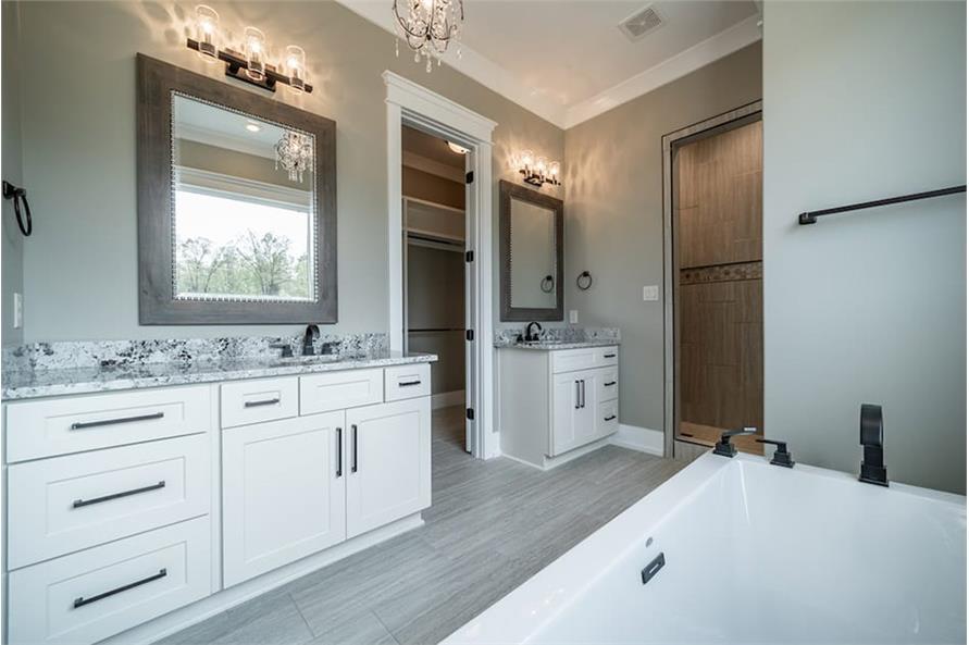 Master Bathroom: Sink/Vanity of this 4-Bedroom,2503 Sq Ft Plan -193-1122