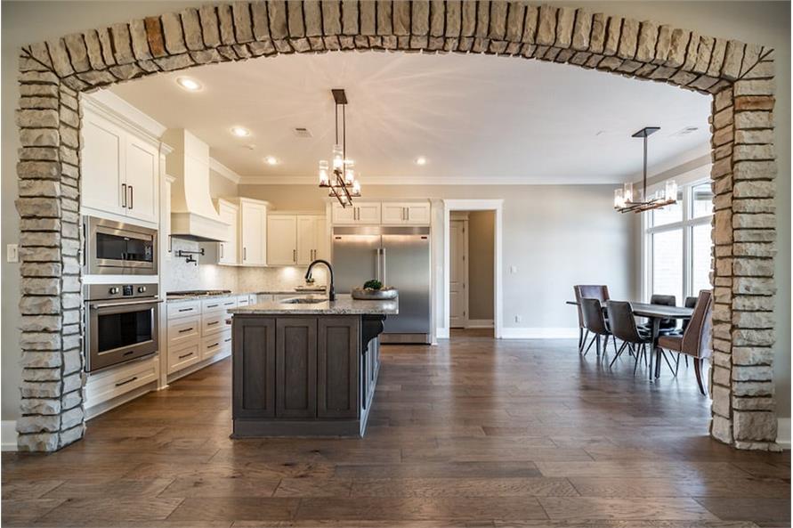 Kitchen: Breakfast Nook of this 4-Bedroom,2503 Sq Ft Plan -193-1122