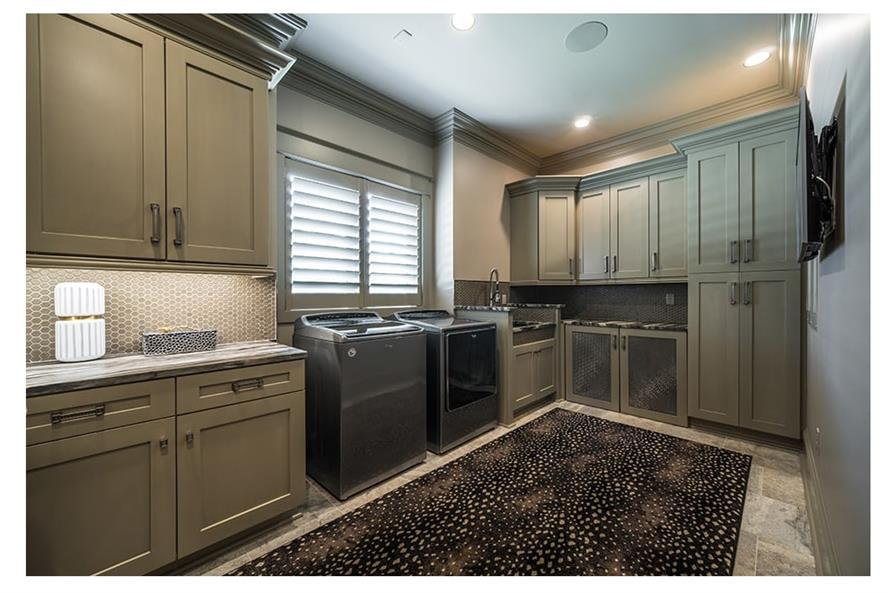 Laundry Room of this 5-Bedroom,7519 Sq Ft Plan -7519