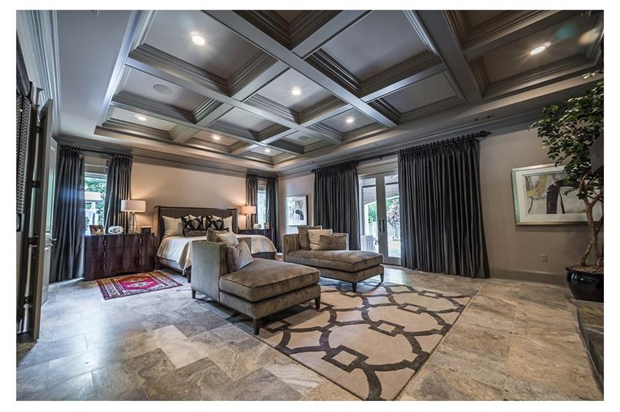Master Bedroom of this 5-Bedroom,7519 Sq Ft Plan -7519