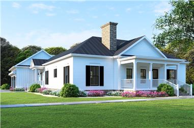 3-Bedroom, 2430 Sq Ft Country Home - Plan #193-1128 - Main Exterior