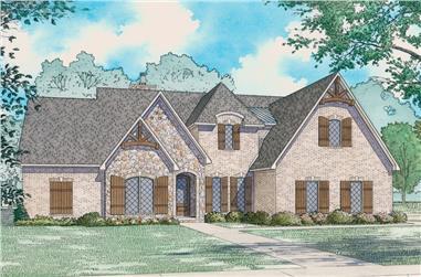 3-Bedroom, 2399 Sq Ft Tudor Home - Plan #193-1129 - Main Exterior