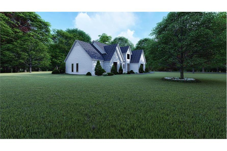 Home Plan Rendering of this 3-Bedroom,2641 Sq Ft Plan -2641