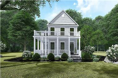 3-Bedroom, 1872 Sq Ft Farmhouse House - Plan #193-1136 - Front Exterior
