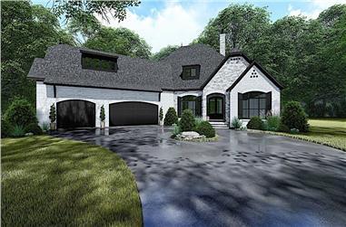 4-Bedroom, 3068 Sq Ft Acadian Home - Plan #193-1137 - Main Exterior