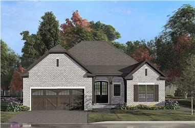 4-Bedroom, 1783 Sq Ft Acadian House - Plan #193-1138 - Front Exterior