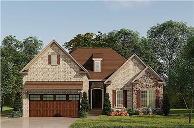 3-Bedroom, 1750 Sq Ft Traditional Home - Plan #193-1139 - Main Exterior