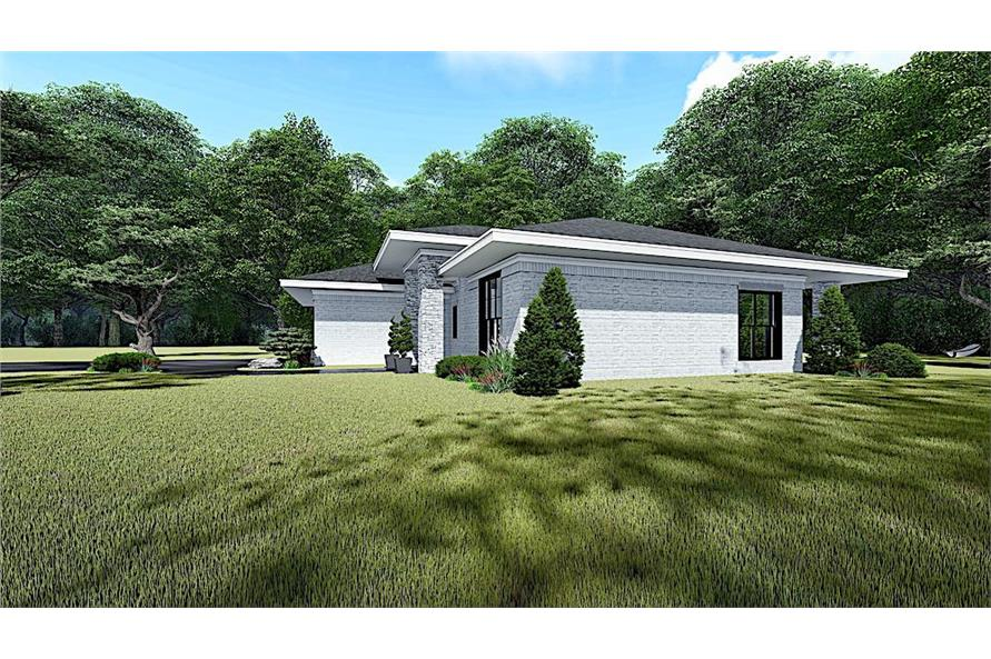 Right View of this 3-Bedroom,1438 Sq Ft Plan -193-1140
