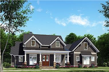 3-Bedroom, 2269 Sq Ft Ranch House - Plan #193-1142 - Front Exterior