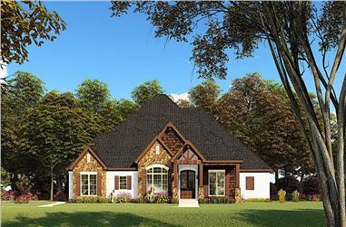 4-Bedroom, 2520 Sq Ft Acadian Home - Plan #193-1147 - Main Exterior