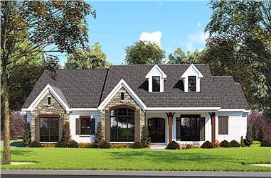 3-Bedroom, 2112 Sq Ft Ranch Home - Plan #193-1148 - Main Exterior