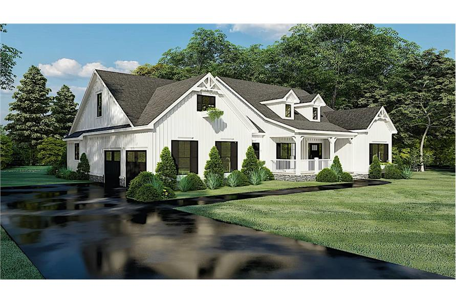 Left View of this 4-Bedroom,2294 Sq Ft Plan -193-1150