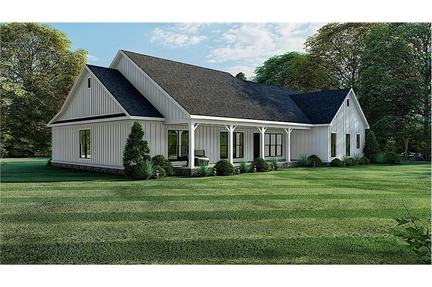 Right View of this 4-Bedroom,2294 Sq Ft Plan -193-1150