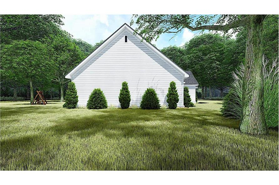 Left View of this 4-Bedroom,1967 Sq Ft Plan -193-1151