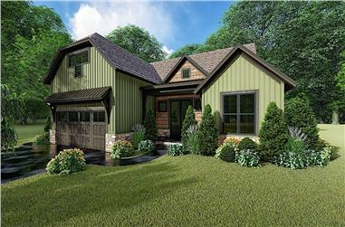 3-Bedroom, 1998 Sq Ft Country Home - Plan 193-1153 - Main Exterior
