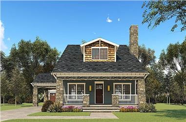 3-Bedroom, 2358 Sq Ft French Home Plan - 193-1156 - Main Exterior
