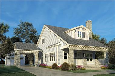 3-Bedroom, 2358 Sq Ft Bungalow Home - Plan #193-1156 - Main Exterior