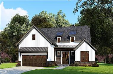 3-Bedroom, 1998 Sq Ft Ranch Home - Plan #193-1162 - Main Exterior