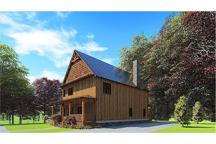 Right View of this 5-Bedroom,3903 Sq Ft Plan -193-1166