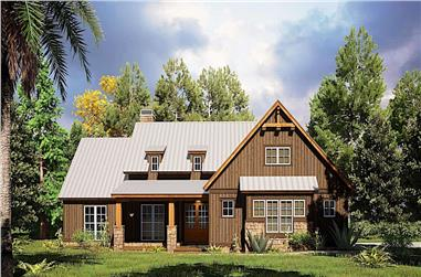 4-Bedroom, 1897 Sq Ft Ranch House - Plan #193-1168 - Front Exterior