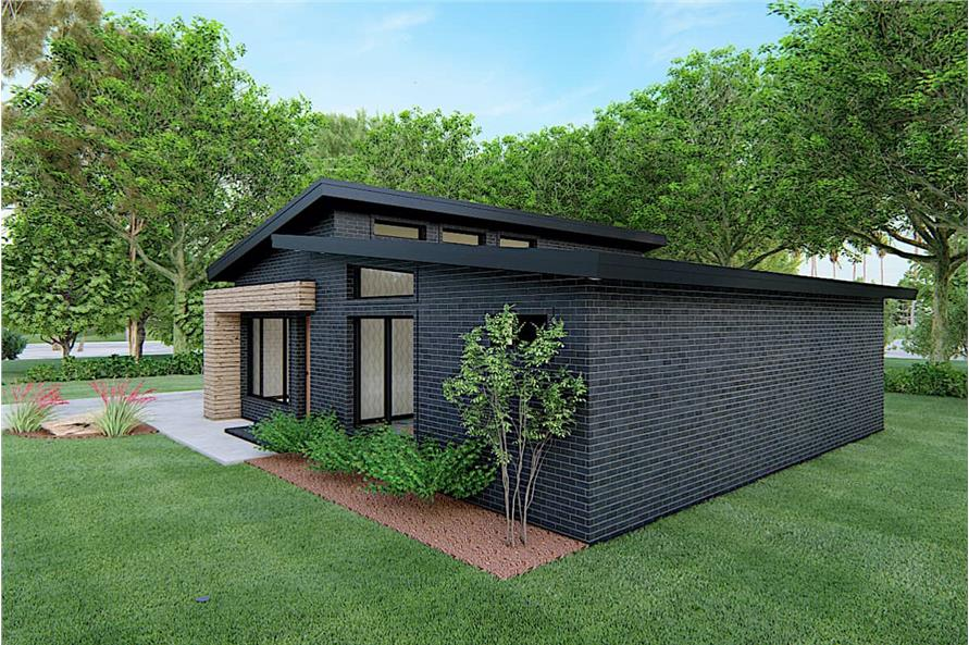 Right View of this 3-Bedroom,1131 Sq Ft Plan -193-1170
