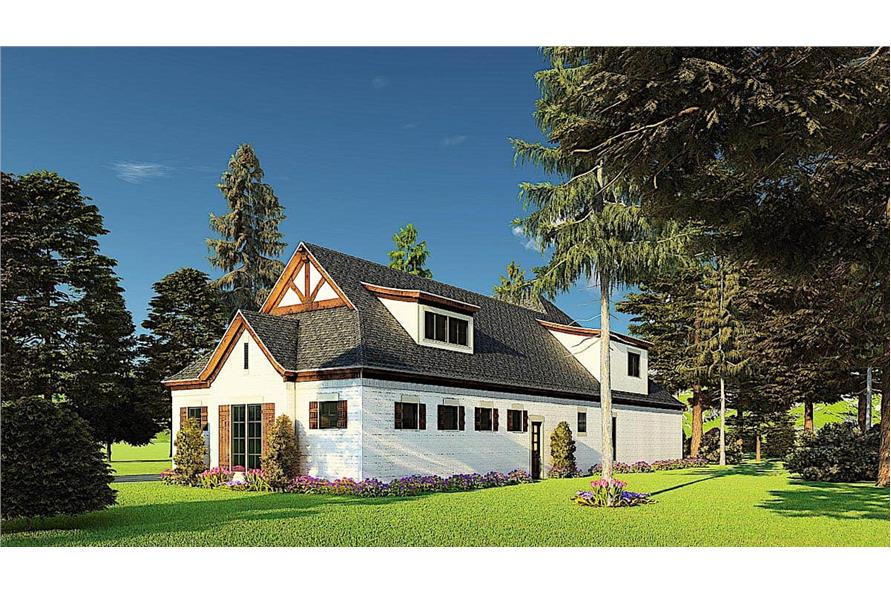 Right View of this 4-Bedroom,3366 Sq Ft Plan -193-1171