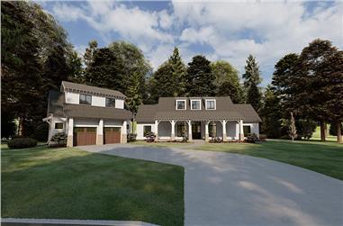 3-Bedroom, 2050 Sq Ft Ranch Home - Plan #193-1172 - Main Exterior