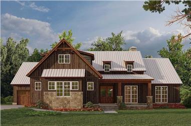 4-Bedroom, 2113 Sq Ft Ranch Home - Plan #193-1184 - Main Exterior