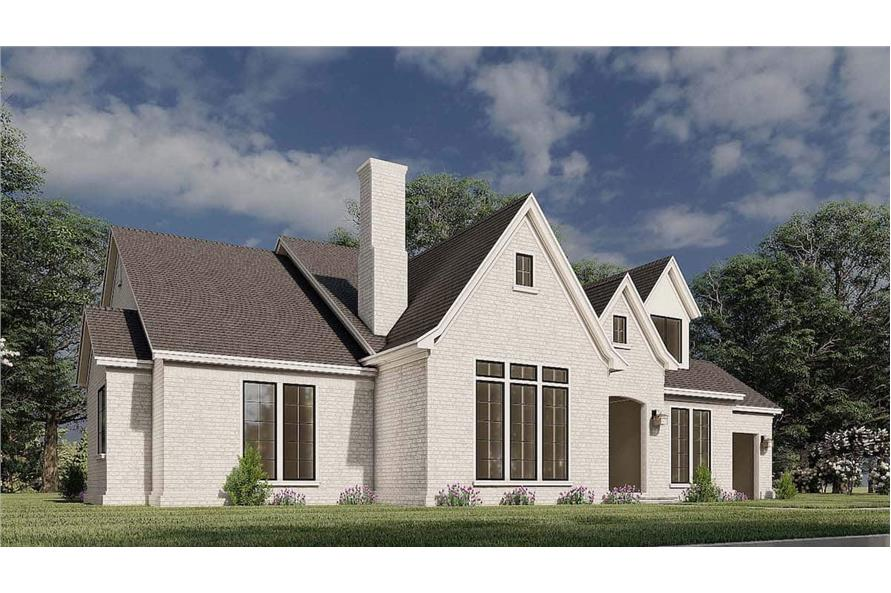 Left View of this 3-Bedroom,3121 Sq Ft Plan -193-1187