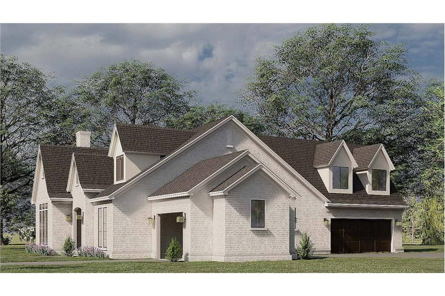 Right View of this 3-Bedroom,3121 Sq Ft Plan -193-1187