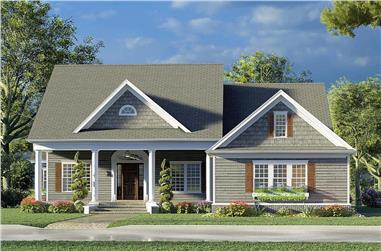 3-Bedroom, 2716 Sq Ft Cottage Home - Plan #193-1193 - Main Exterior