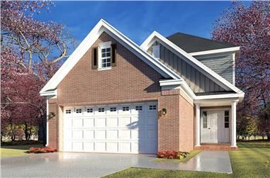 3-Bedroom, 1769 Sq Ft Traditional House - Plan #193-1194 - Front Exterior