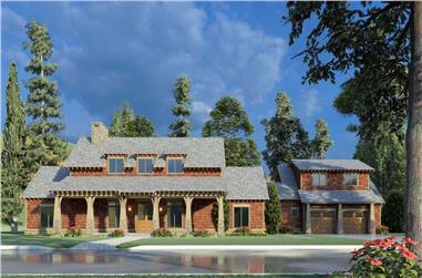 4-Bedroom, 2765 Sq Ft Farmhouse Home - Plan #193-1195 - Main Exterior