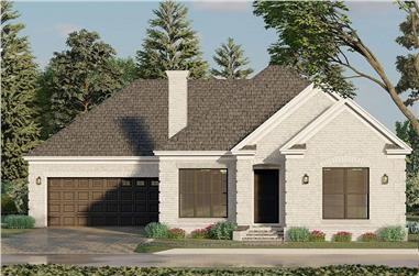 3-Bedroom, 1598 Sq Ft Ranch Home - Plan #193-1197 - Main Exterior