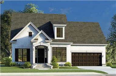 3-Bedroom, 1684 Sq Ft Colonial House - Plan #193-1199 - Front Exterior