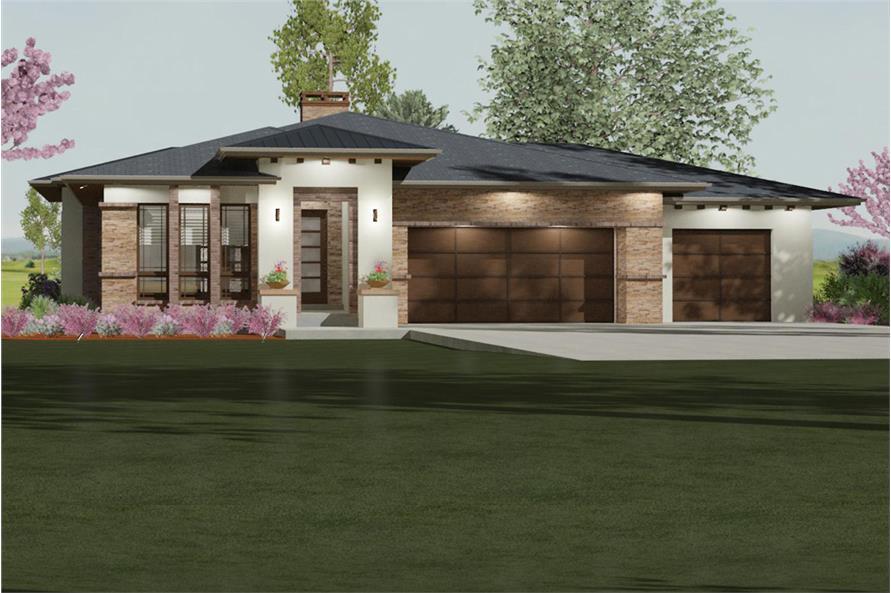 194-1000: Home Plan Rendering