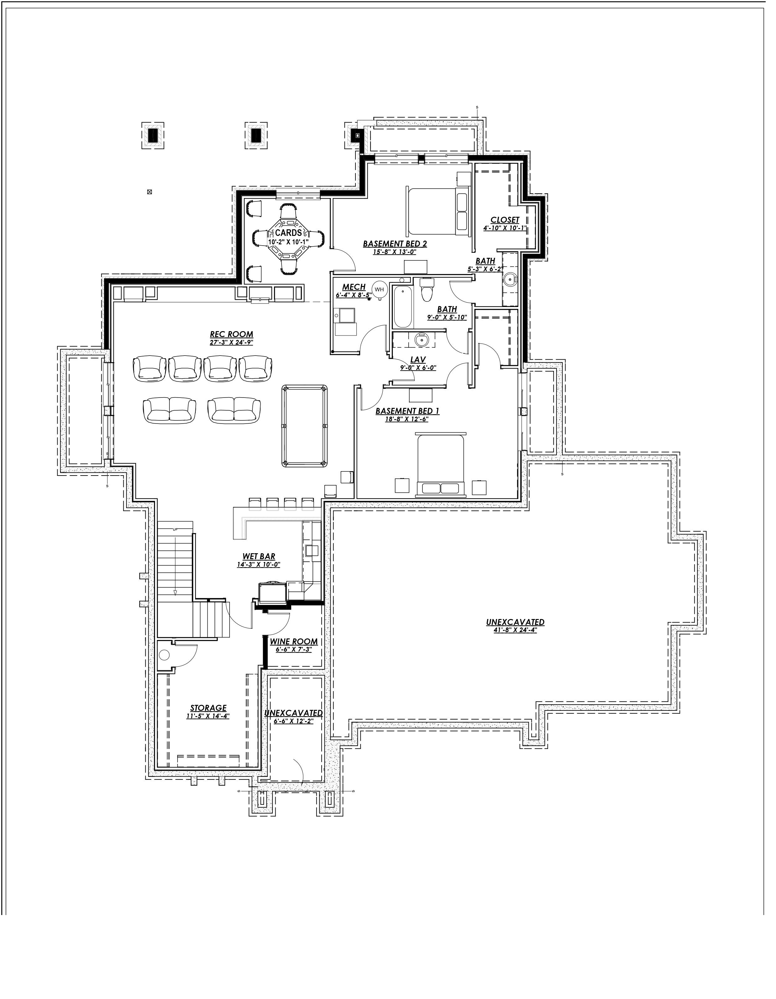 Prairie house plan 194 1000 2 bedrm 2200 sq ft home plan for Prairie floor plans