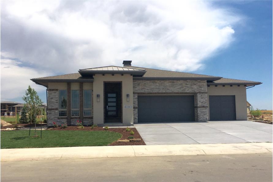 Prairie House Plan 194 1000 2 Bedrm 2200 Sq Ft Home Plan
