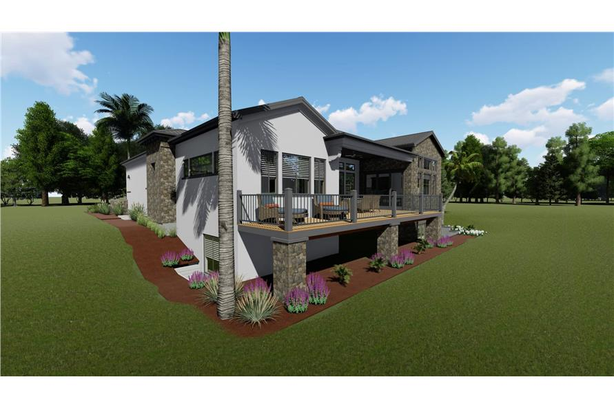 Deck of this 2-Bedroom,2380 Sq Ft Plan -2380
