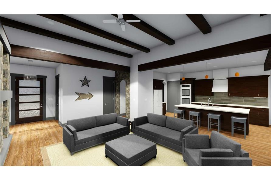 Great Room of this 2-Bedroom,2380 Sq Ft Plan -2380