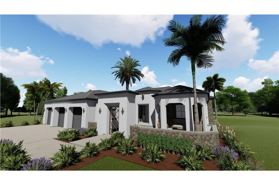 Home Plan Rendering of this 2-Bedroom,2380 Sq Ft Plan -2380