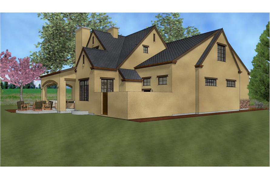 194-1002: Home Plan Rendering